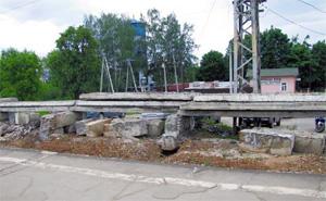 Реконструкция ЖД платформы, в Хотьково будут ходить Сапсаны