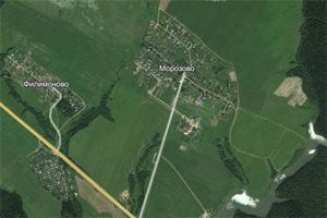 В районе деревни Морозово пропал человек